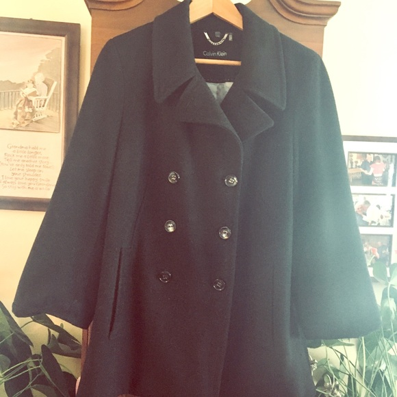 Ladies Calvin Klein double breasted Pea Coat